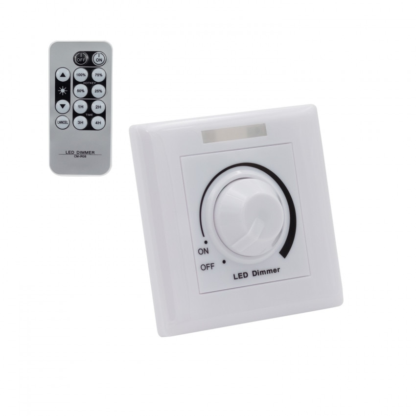 1/10V LED Dimmer with an IR Remote Control
