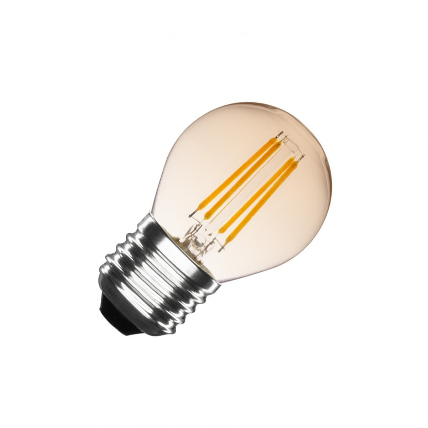 G45 E27 4W Small Classic Gold filament LED (Dimmable)