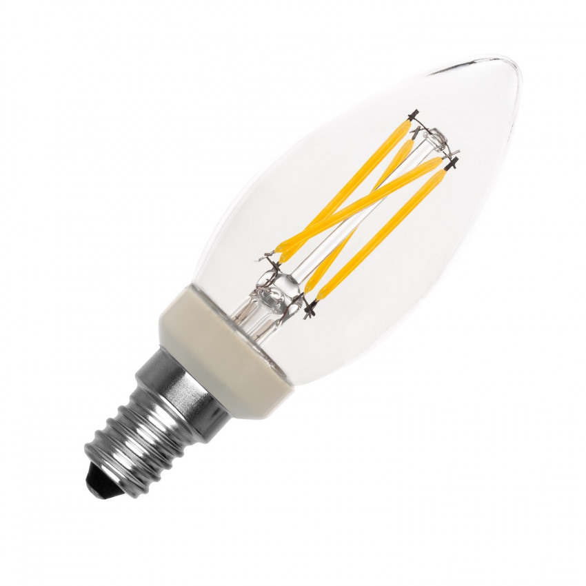 E14 C35 3W Dimmable Philips Filament LED Bulb