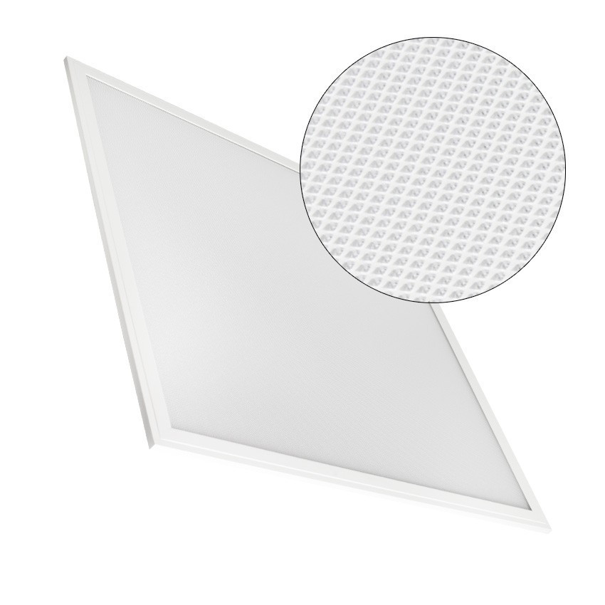 60x60cm 40W 4000lm Dimmable Panel LED Microprismatic (UGR17)