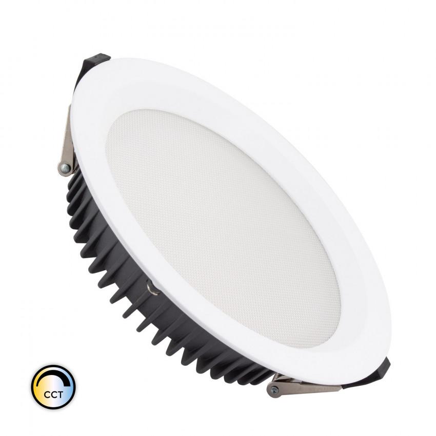 40W New Aero Slim LED Downlight Selectable CCT (UGR17) LIFUD Ø 200 mm