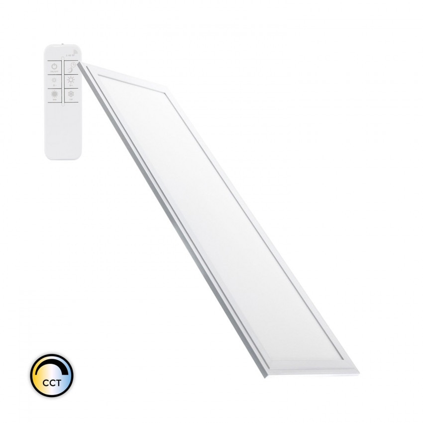 120x30cm 40W Slim Dimmable LED Panel with Selectable CCT 3600lm