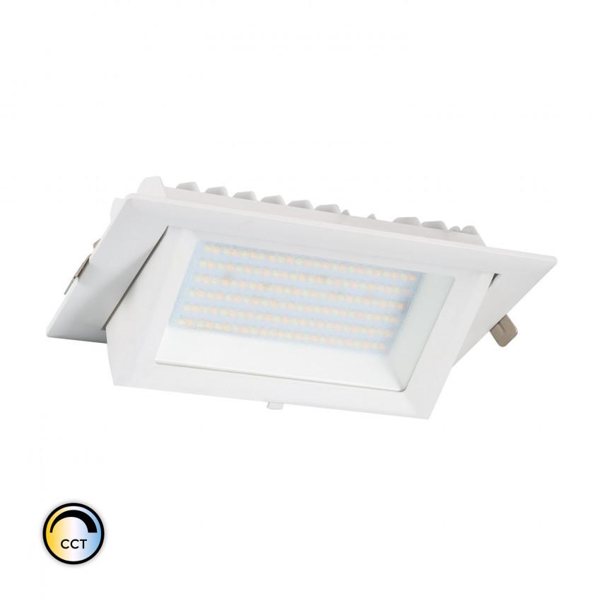 60W Adjustable Rectangular SAMSUNG LIFUD Dimmable LED Floodlight Adjustable CCT 130 lm/W