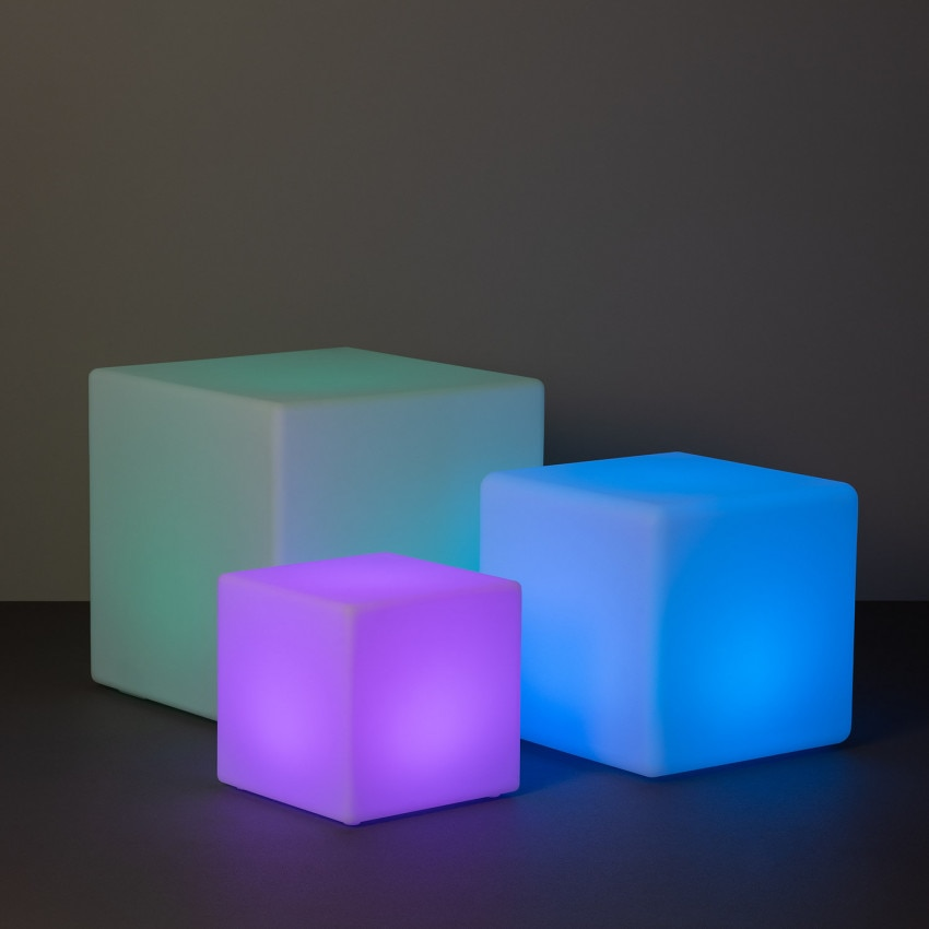 Rechargeable RGBW LED Cube