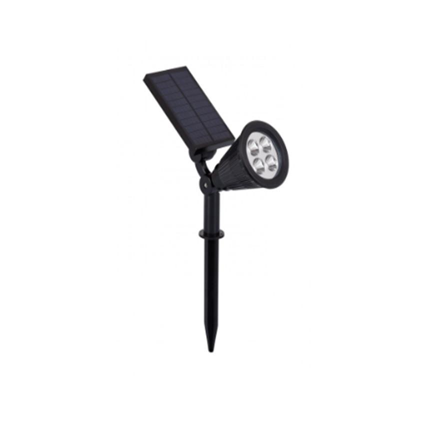 Meillion RGBW Solar IP65 LED Floodlight with Spike
