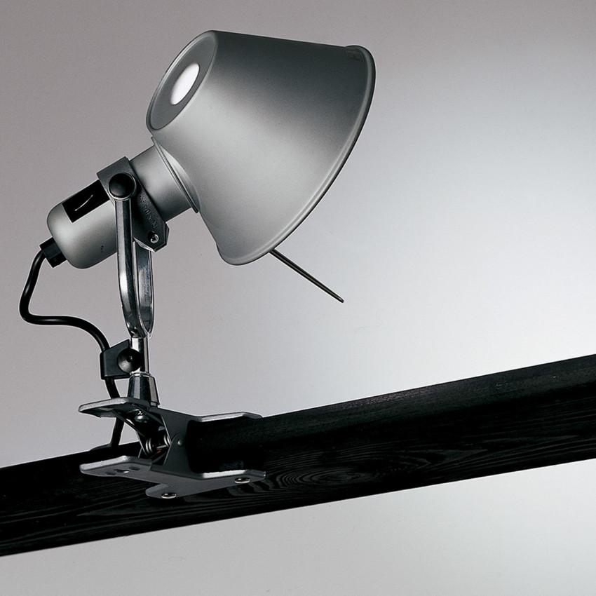 ARTEMIDE Tolomeo Micro Faretto Table Lamp with Clip