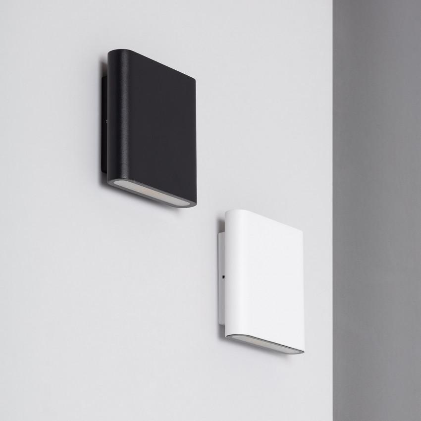 White 12W Vesta LED Up-Down Wall Light