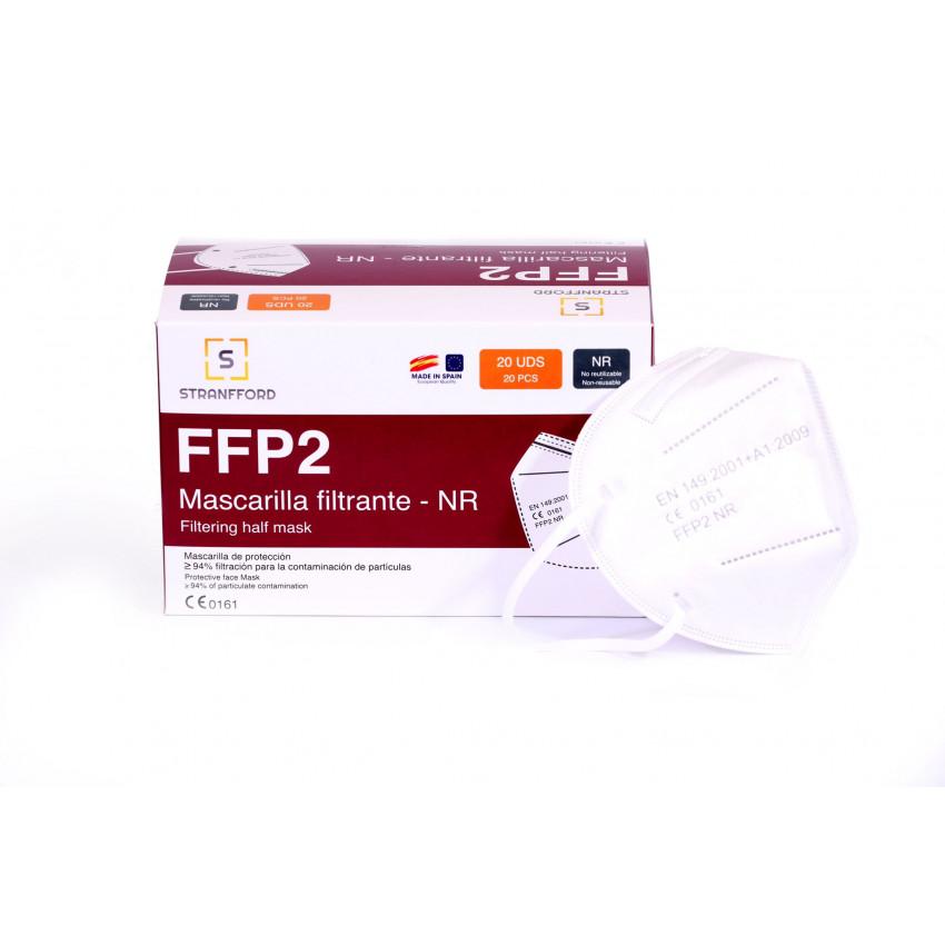 Pack of 20 FFP2 Masks manufactured in Spain