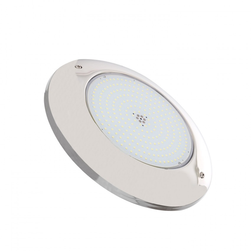 20W Stainless Steel 12V DC IP68 Surface LED Pool Light in 6000K