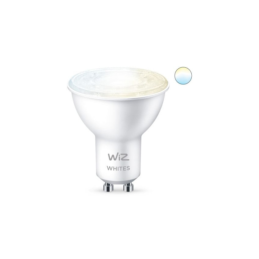 Pack of 4.9W GU10 PAR16 Smart WiFi + Bluetooth WIZ CCT Dimmable LED Bulbs (2 un)