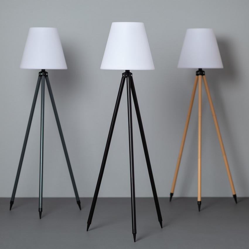 Kefre Solar RGBW LED Floor Lamp