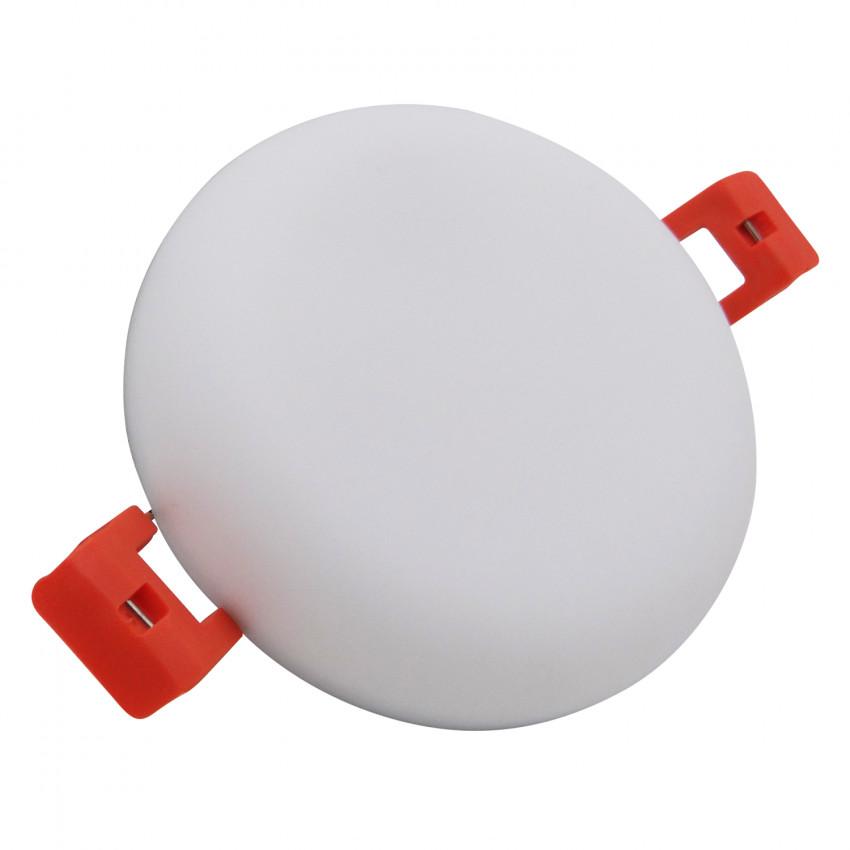 Round Slim 9W (UGR19) LIFUD LED Surface Panel IP54 Ø75 mm Cut-Out