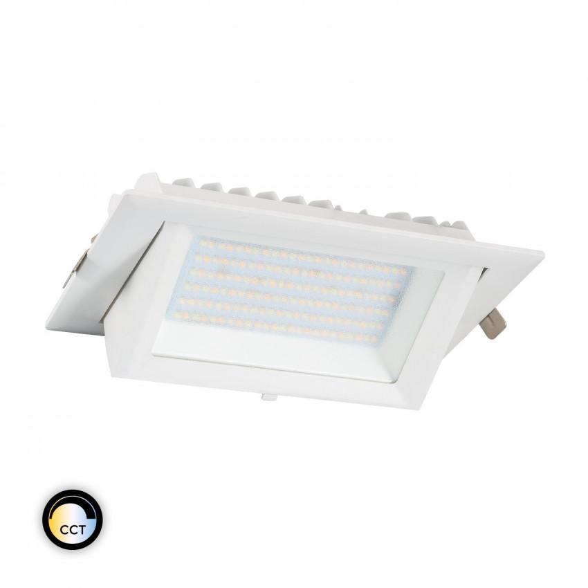 60W Rectangular SAMSUNG 130lm/W LIFUD LED Floodlight with Selectable CCT