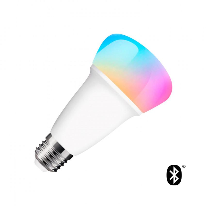 9W E27 Bluetooth RGBW LED Bulb - Dimmable