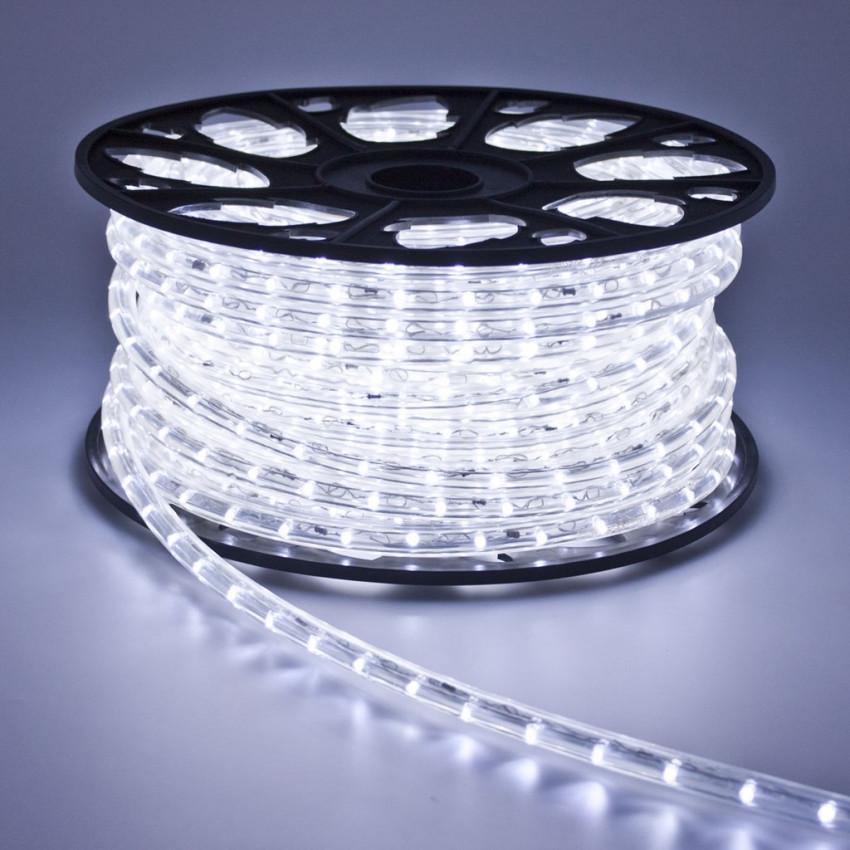 220V AC 36 LED/m LED Rope Light in Cool White IP65 Custom Cut every 100cm