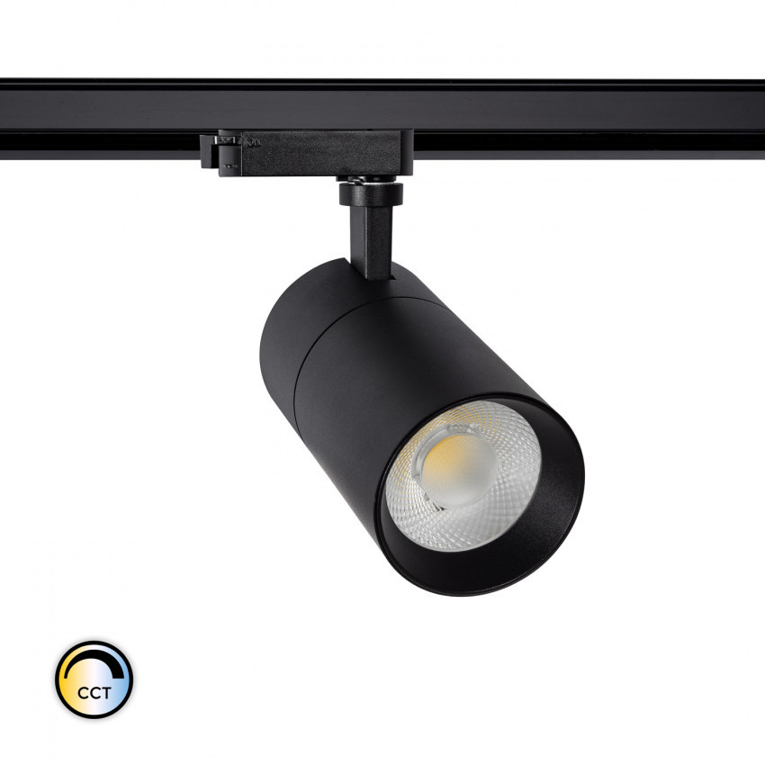 20W New Mallet Spotlight for a Single-Circuit LED Track with Selectable CCT