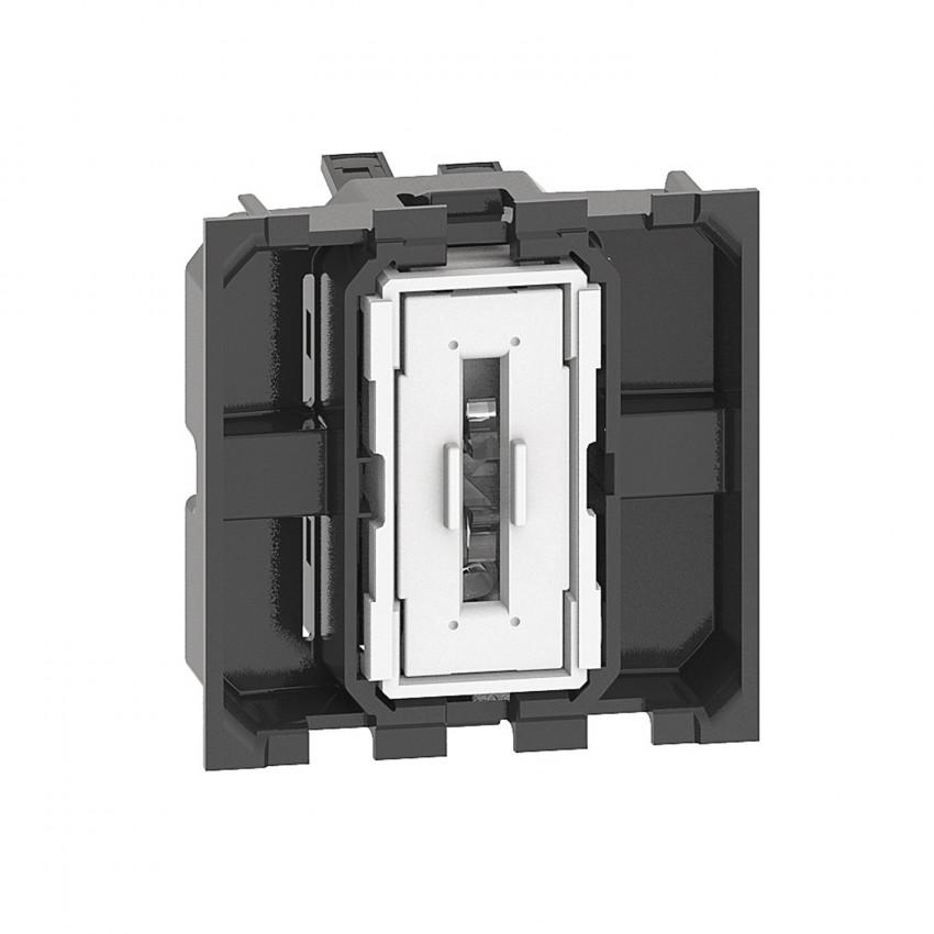 BTicino Living Now K4001M2A 10 AX 250V AC 2 Module Switch Mechanism