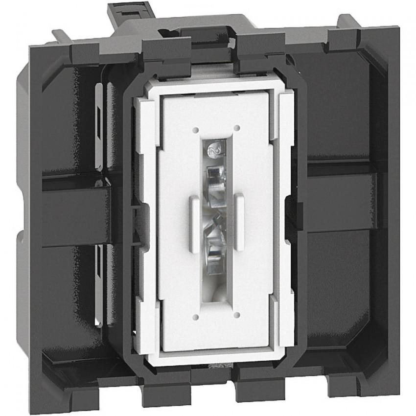 BTicino Living Now K4003M2A 10 AX 250V AC 2 Module Switch Mechanism