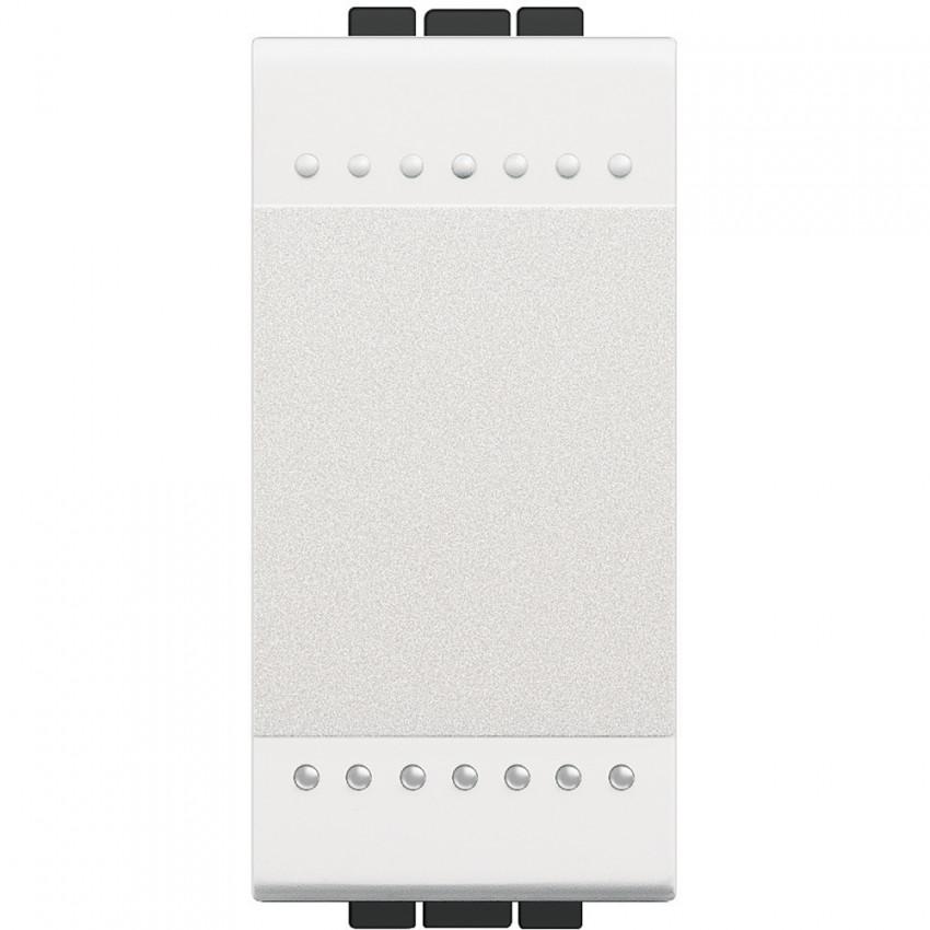 BTicino Living Light N4001A 16 AX 250V AC 1 Module Auto Terminal  Single Switch Mechanism