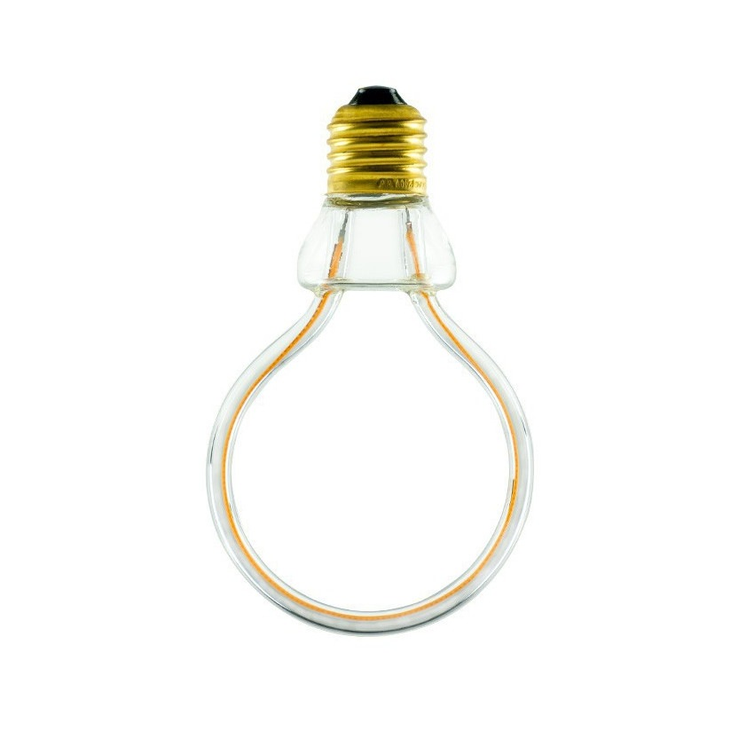 8W E27 Art Globe Creative-Cables Model SEG50144 Dimmable Filament LED Bulb