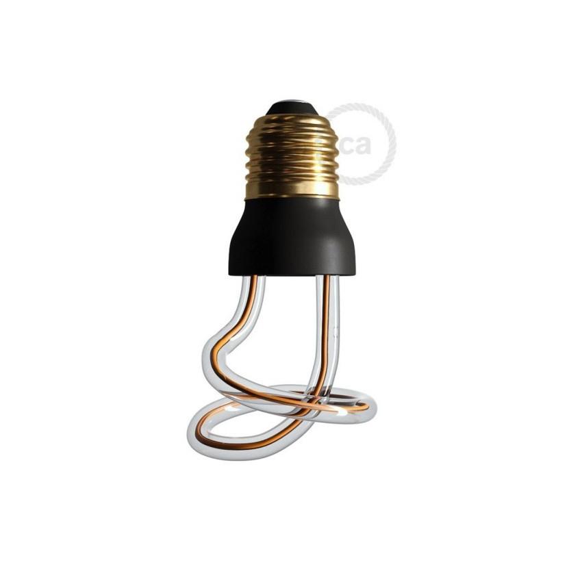 8W E27 Creative-Cables Art Loop SEG50149 Dimmable Filament LED Bulb