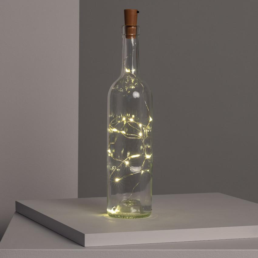 LED Fairy Lights for a Bottle
