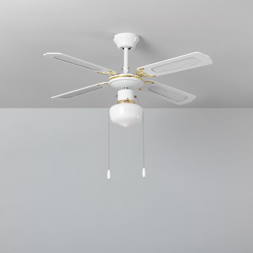 103cm Motor AC White Havoc Ceiling Fan