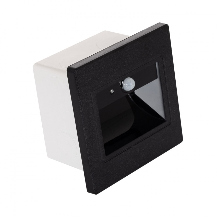 LED Beacon with PIR Sensor and a Black Finish