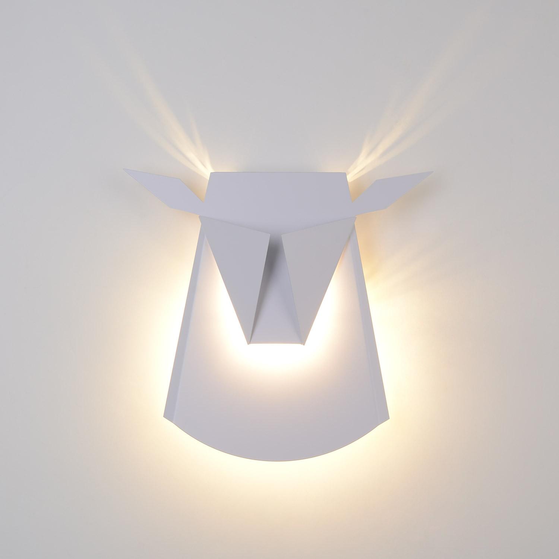 Aplique LED Reno 9W Blanco