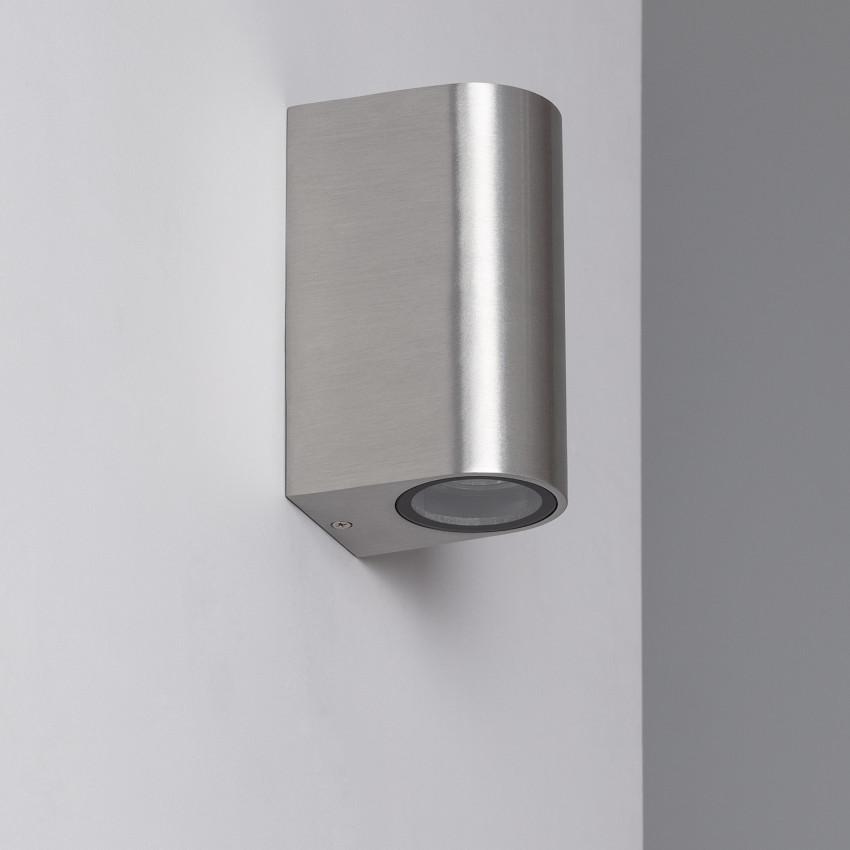Aluminium Big Gala Up-Down Wall Lamp