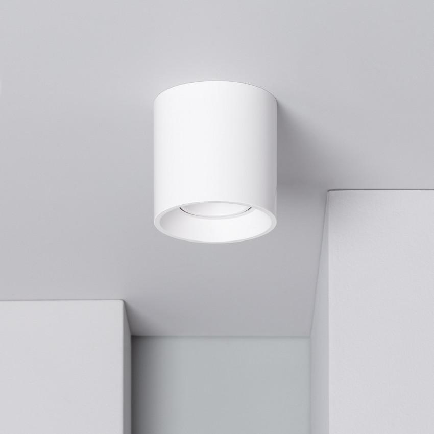 Quartz PC White Ceiling Lamp