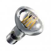 R63 E27 6W Filament LED Bulb (Dimmable)