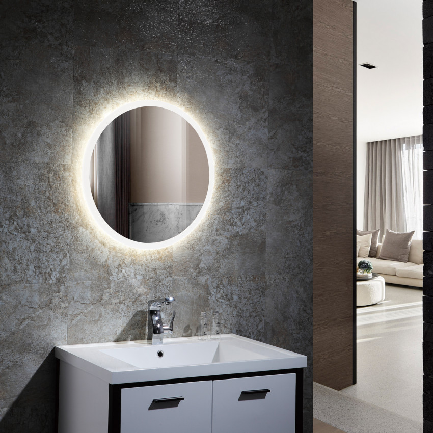 15/35/55W Crete Anti-fog Tactile LED Decorative Mirror