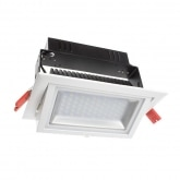 28W Adjustable Rectangular SAMSUNG LED Spotlight Projector (120lm/W) - LIFUD